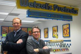 Rick Wetzel dan Bill Phelps, Wetzel's Pretzels