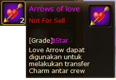 1. arrows of love