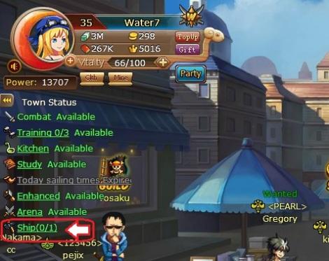1. cara manyamakan level crew member di pirate king