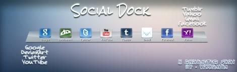 social network skin rainmeter