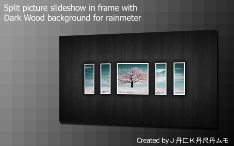 picture viewer rainmeter skin
