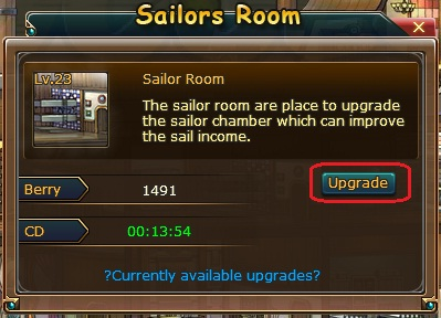 3. upgrade room pirate king