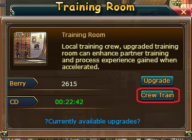 crew train pirate king