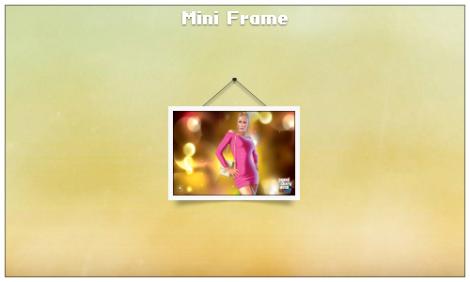 picture frame rainmeter skin