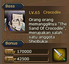 1. quest pirate king crocodile