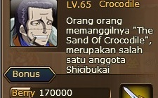 1. quest pirate king crocodile