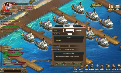 2. slavery system pirate king