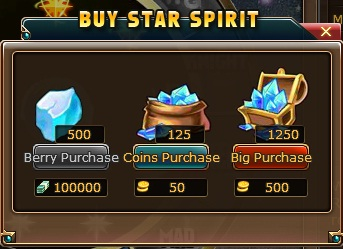 3, buy star spirit