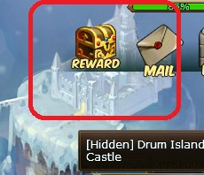 8.  hidden drum island castle pirate king