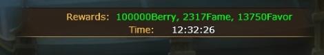 arena bonus reward