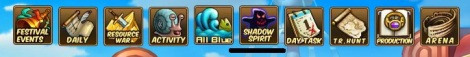 0. shadow spirit menu pirate king