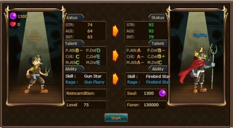 1. usopp evo advanced pirate king