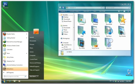 1. vista skinpack for windows 7