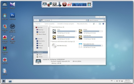 1. wave theme pack for windows 7