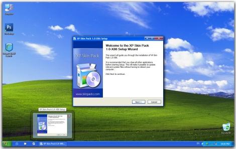 1. xp theme skinpack for windows 7
