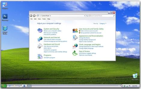 2. xp skinpack for windows 7