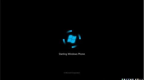 4. windows phone boot screen