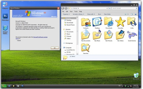 4. xp theme for windows 7 and windows 8
