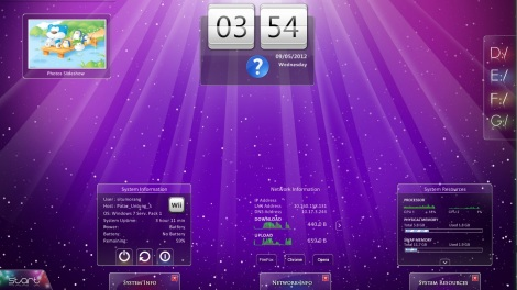 6. Purple Desktop