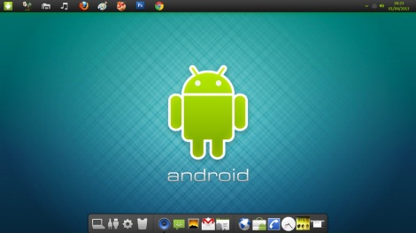 71. Android Skinpack firts view