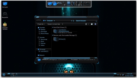 1. windows 7 theme for gamers