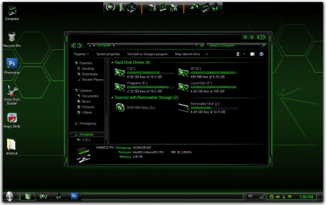 2. alienware theme pack for windows 7