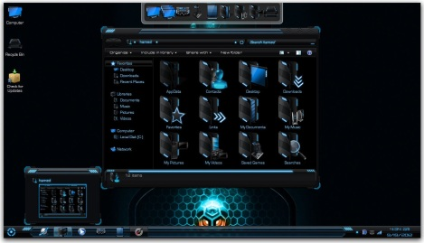 2. gamer theme pack for windows 7