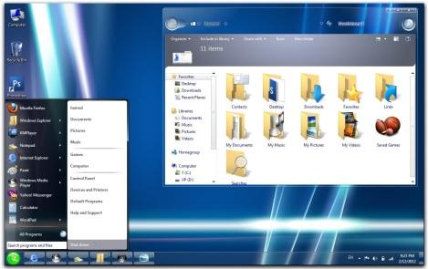 2. longhorn skinpack for windows 7