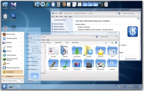 2. Soft blue theme [ack for windows 7