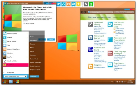2. windows 8 glossy theme for windows 7