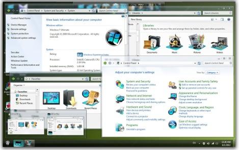 3. black taskbar theme for windows 7