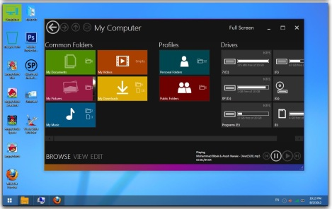 3. download Tema windows 8 gratis