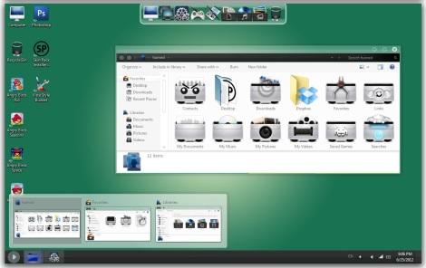 3. gaia operatng system theme