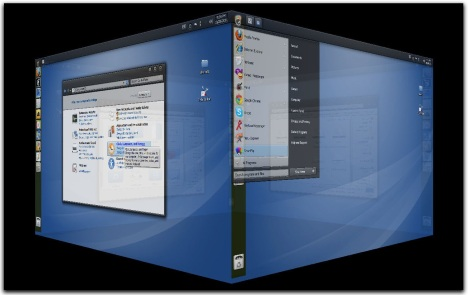 3. gnome 3d animations on windows  7