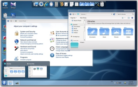 3. kde skinpack for windows 7