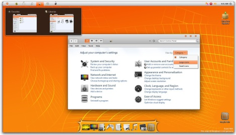 3. orange theme for windows 7
