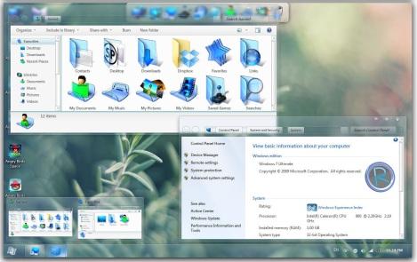 3. radiance icon theme for windows 7