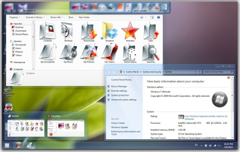 3. shine theme for windows 7