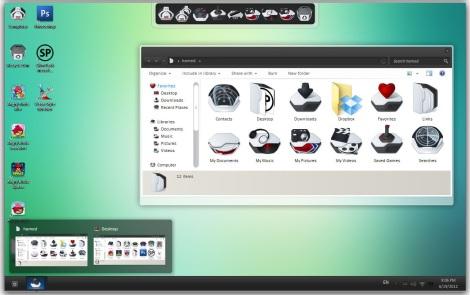 3. tema windows 7 buat gamer