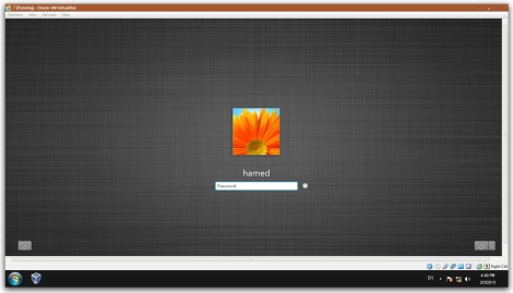 4. classic login screen for windows 7