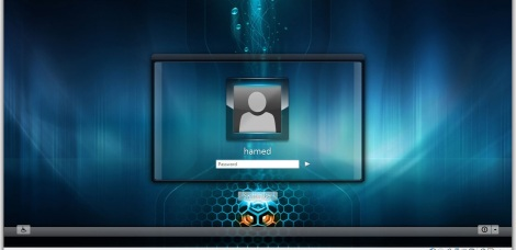 4. gamer theme login screen windows 7