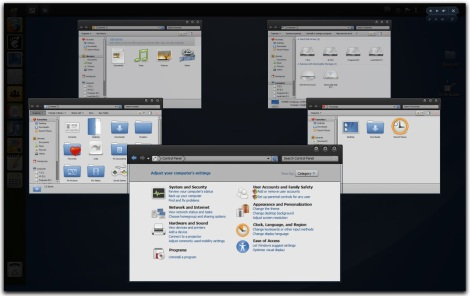 4. gnome theme pack for windows 7 - gnome flip