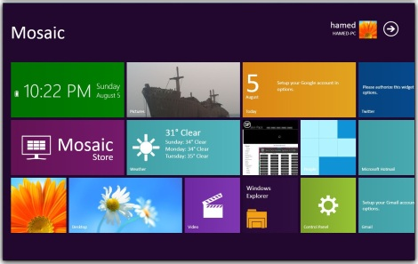4. Windows 8 (metro) skinpack