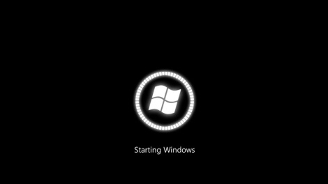 4. Windows metro boot screen