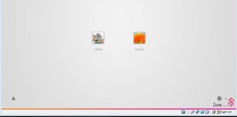 4. zune theme for windows 7 login screen