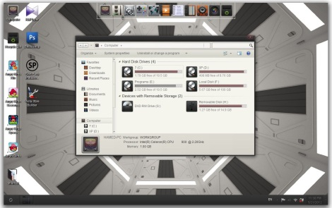 1. Appows theme for windows 7
