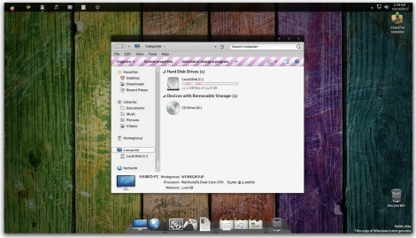 1. colorful osx theme for windows 7