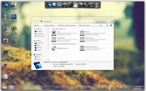 1. elune theme for windows 7