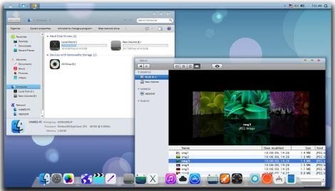 1. Ios7 theme for windows 7