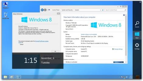 1. windows 8 theme for windows 7